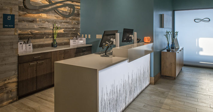 Infinity Spa Front Desk